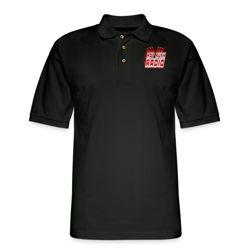 worlds #1 radio station net work - Men's Pique Polo Shirt
