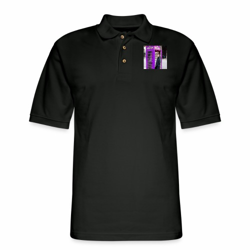 Sean in England Purple - Men's Pique Polo Shirt