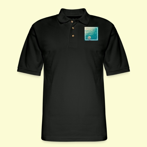 Framed ocean print - Men's Pique Polo Shirt
