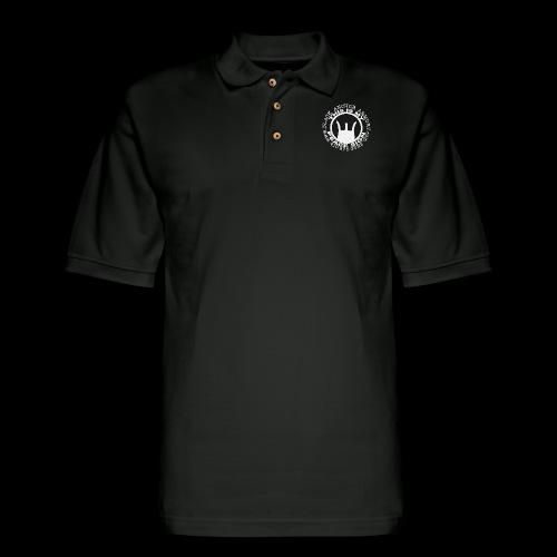 Peace Sign - Men's Pique Polo Shirt