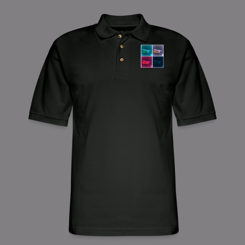 pop art blunt - Men's Pique Polo Shirt