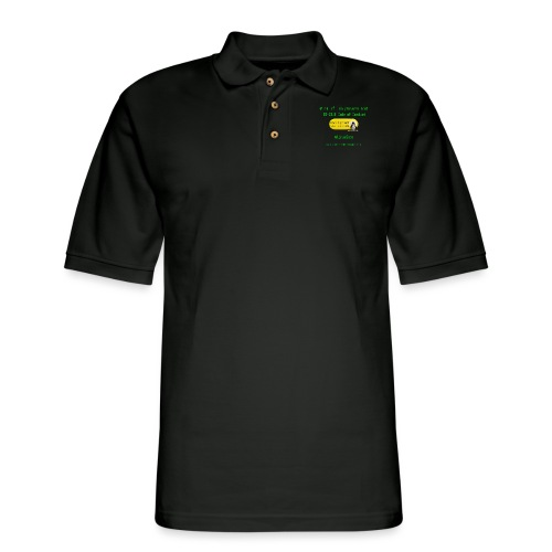rm Linux Code of Conduct - Men's Pique Polo Shirt