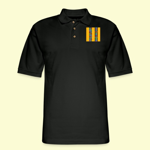 colourful and playful patterns - Men's Pique Polo Shirt
