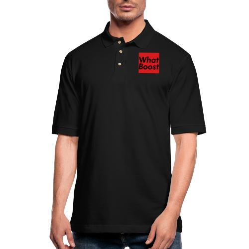 Red Box - Men's Pique Polo Shirt