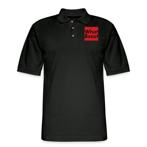Red Box - Men's Pique Polo Shirt
