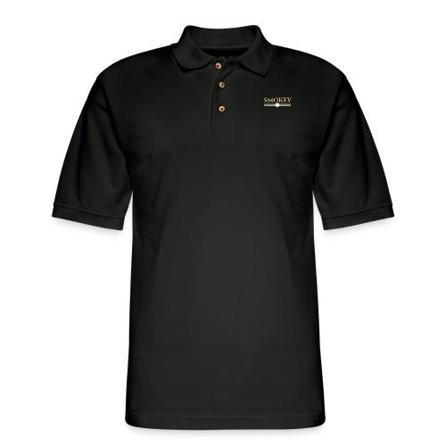 Designer Smokey - Men's Pique Polo Shirt