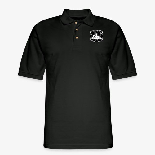 STALC Logo - Men's Pique Polo Shirt