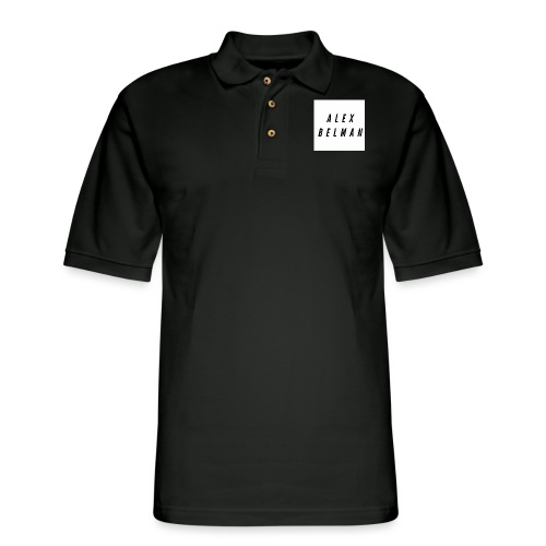 Alex Belman Logo - Men's Pique Polo Shirt