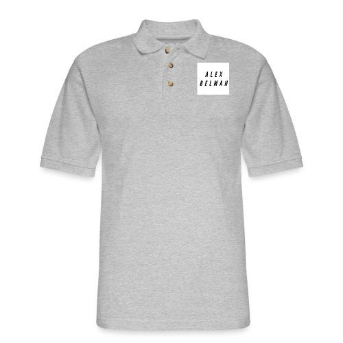Alex Belman Logo - Men's Pique Polo Shirt