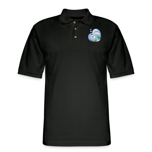 A Fishie Wedding - Men's Pique Polo Shirt