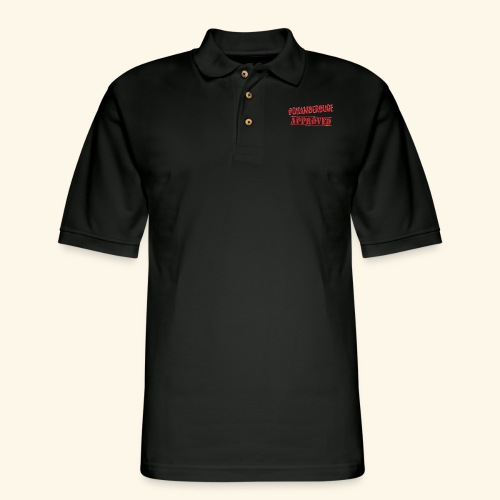 Chamber Dude Approved - Men's Pique Polo Shirt