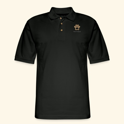 Paw Project - Men's Pique Polo Shirt