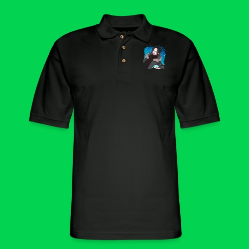 Mr no name guy. - Men's Pique Polo Shirt