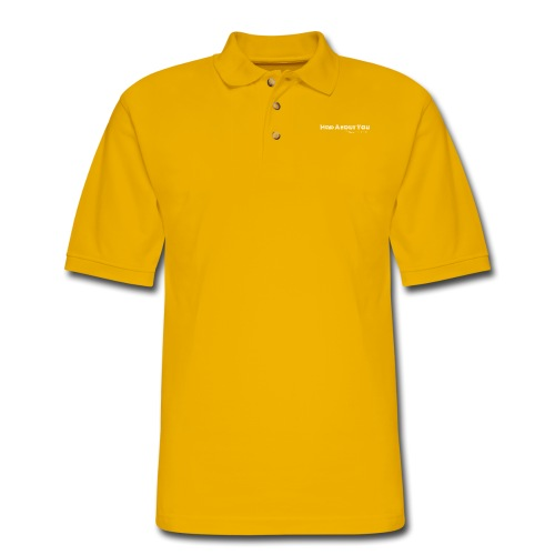Mad About You Tee - Men's Pique Polo Shirt