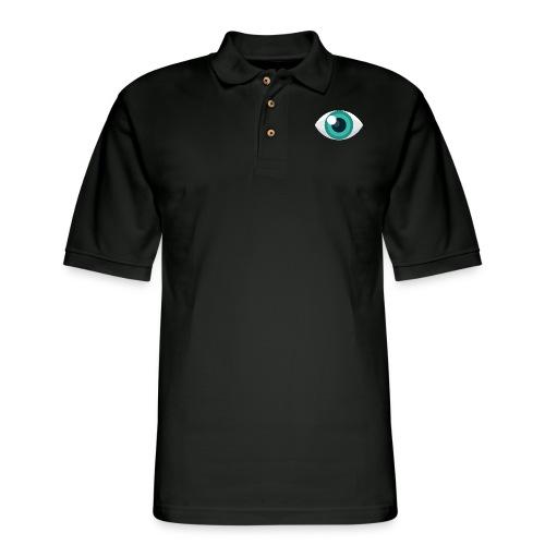 Eyeball - Men's Pique Polo Shirt