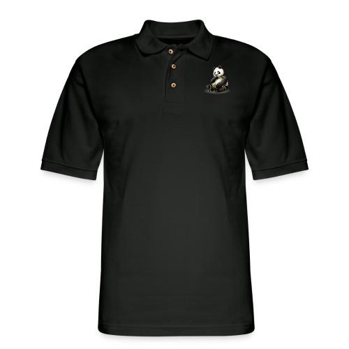 Hungry Panda - Men's Pique Polo Shirt