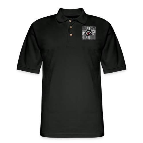 KulturefreeDem Logo Merch Design - Men's Pique Polo Shirt