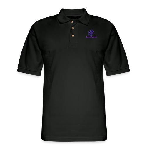 gaming network purple drink bottle - Men's Pique Polo Shirt