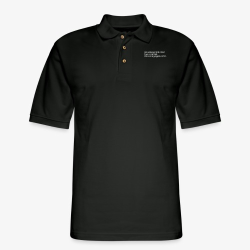 Unexpected Error - Men's Pique Polo Shirt