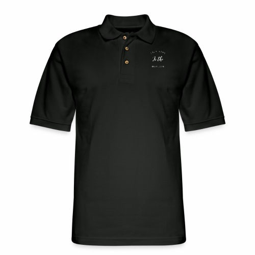 Self Love is the Best love - Men's Pique Polo Shirt
