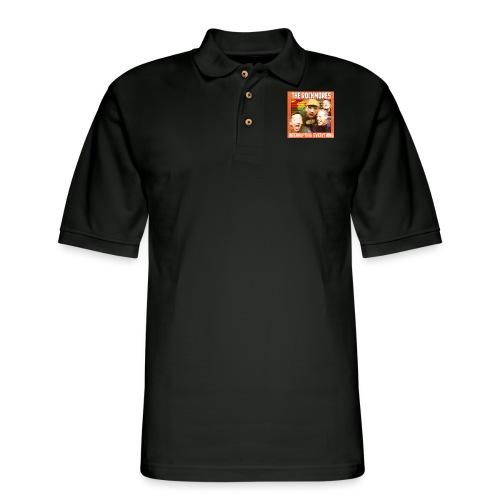 The Rockmores, Interrupting Everything - Men's Pique Polo Shirt