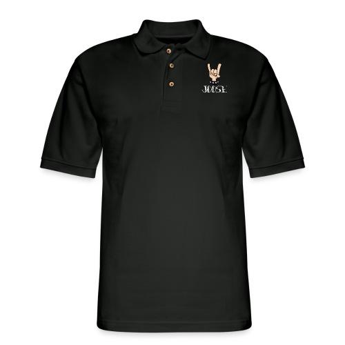 JOOSE HORNS - Men's Pique Polo Shirt