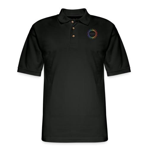 Proud Circles - Men's Pique Polo Shirt