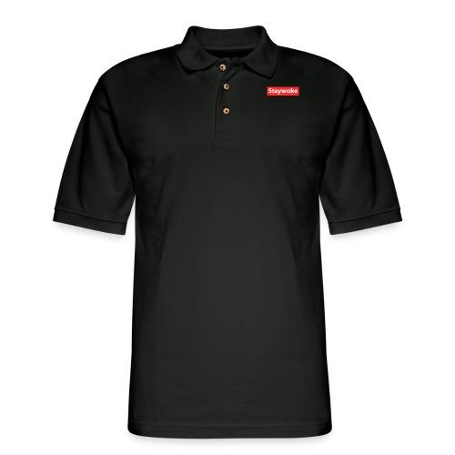 Stay woke - Men's Pique Polo Shirt