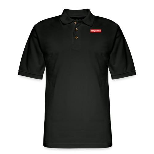 Stay woke - Men's Pique Polo Shirt
