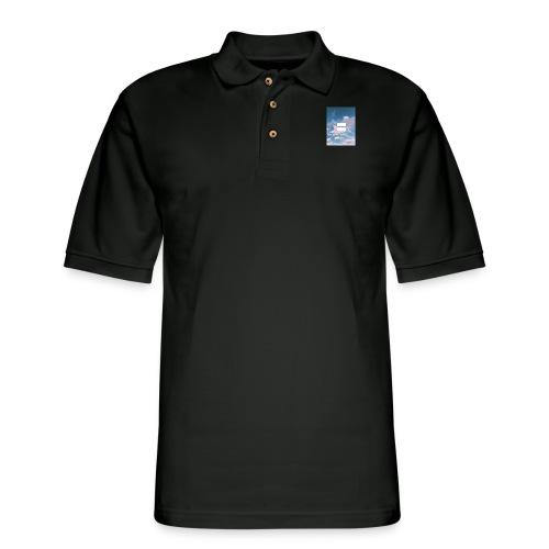 Trans* Pride - Men's Pique Polo Shirt