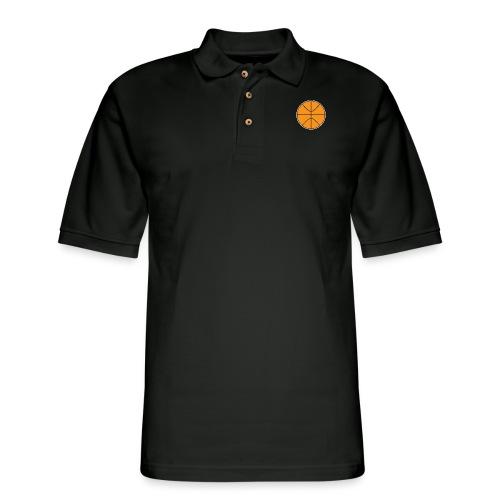Plain basketball - Men's Pique Polo Shirt