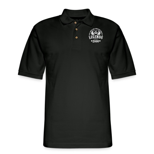 Legends are Born in 2000 - Men's Pique Polo Shirt