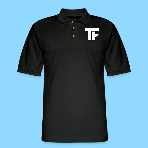 Team Friction Monogram Logo Patch - Men's Pique Polo Shirt