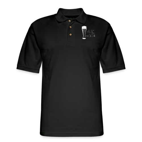 Beer and 2 Shots - Men's Pique Polo Shirt