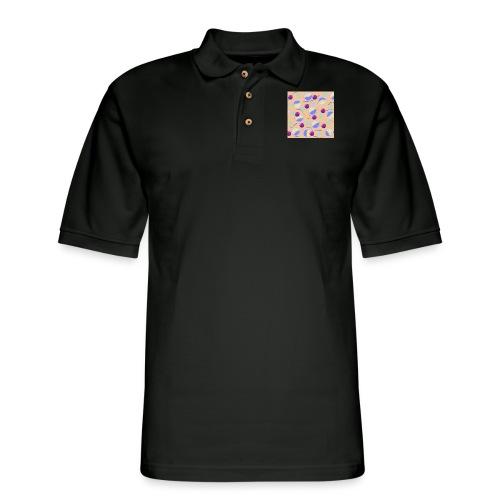 lovely cosmos - Men's Pique Polo Shirt