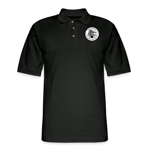 NAGA Logo - Men's Pique Polo Shirt