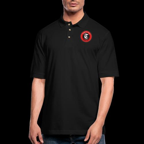 Badge 05a - Men's Pique Polo Shirt