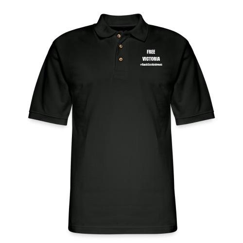 Free Victoria - Men's Pique Polo Shirt
