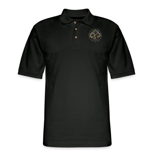 Witness True Sorcery Emblem (Alu, Alu laukaR!) - Men's Pique Polo Shirt