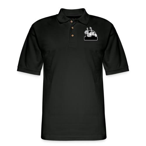 Personalized Rat Rod - Men's Pique Polo Shirt