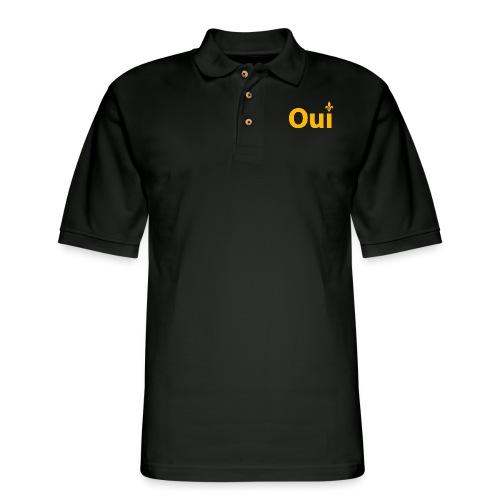 OUI Québec - Men's Pique Polo Shirt