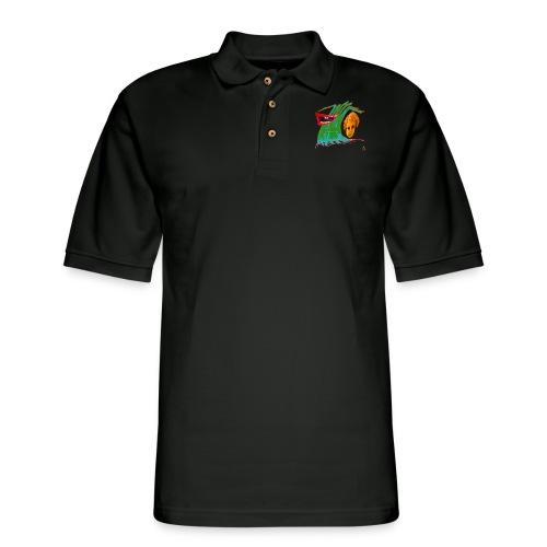 Wave of Fear - Men's Pique Polo Shirt