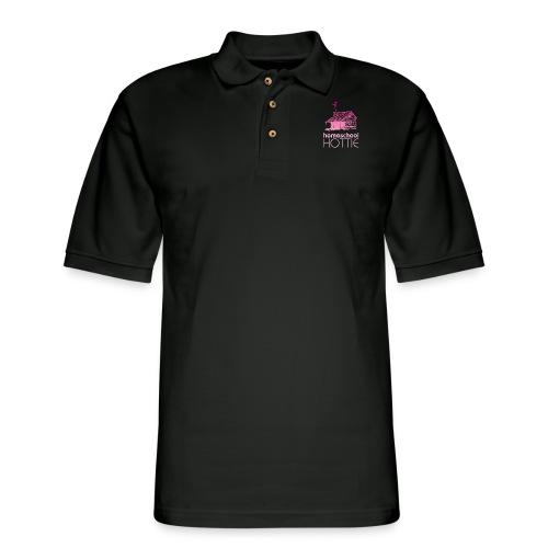 Homeschool Hottie PW - Men's Pique Polo Shirt
