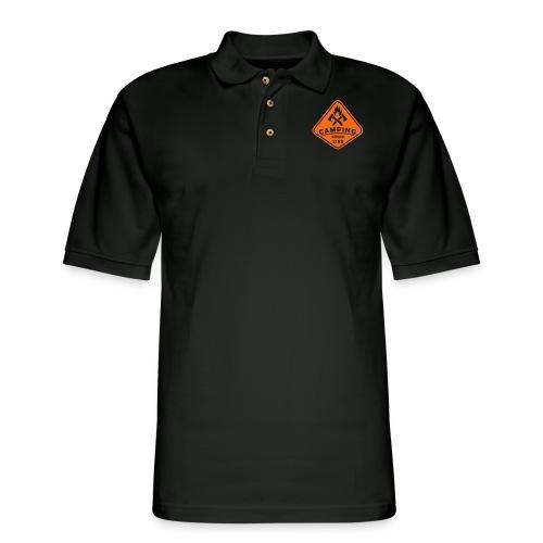 Campfire - Men's Pique Polo Shirt