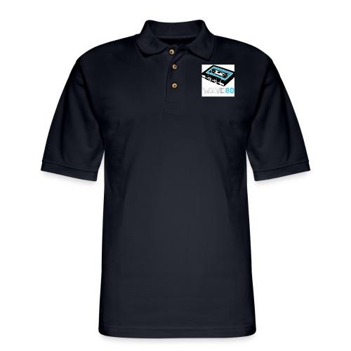 Alt Logo - Men's Pique Polo Shirt