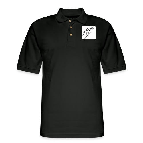 Sign shirt - Men's Pique Polo Shirt