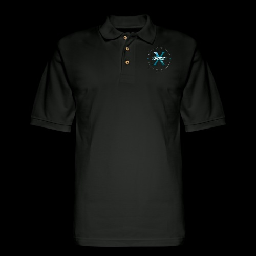 BOTZ X Circle Logo - Men's Pique Polo Shirt