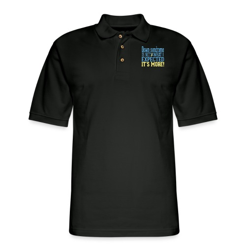 Not What I Expected - Men's Pique Polo Shirt