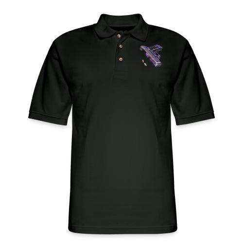 Gun - Men's Pique Polo Shirt