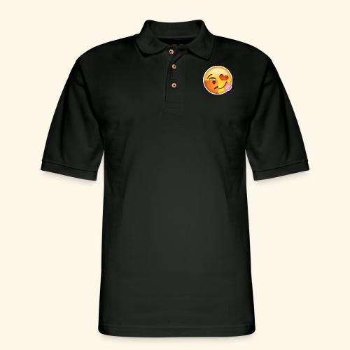 E Tees , Unique , Love , Cry, angry - Men's Pique Polo Shirt